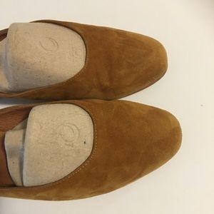 3163dab94dd9 Jeffrey Campbell Shoes - Jeffrey Campbell Mula Mustard Yellow Suede Mules
